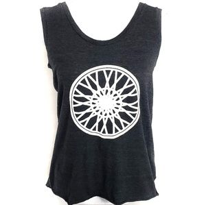 Soulcycle Wheel Logo Graphic Tank